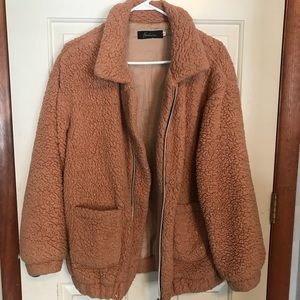 Teddy jacket 🐻